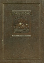 1924 Edition, Northern Arizona State Teachers College - La Cuesta Yearbook (Flagstaff, AZ)