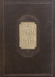 1930 Edition, Northern Arizona State Teachers College - La Cuesta Yearbook (Flagstaff, AZ)