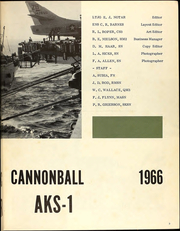 Page 5, 1966 Edition, Castor (AKS 1) - Naval Cruise Book online yearbook collection