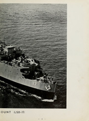 Page 7, 1954 Edition, Catamount (LSD 17) - Naval Cruise Book online yearbook collection
