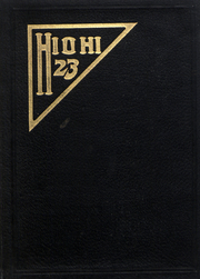 Page 1, 1923 Edition, Oberlin College - Hi-O-Hi Yearbook (Oberlin, OH) online yearbook collection