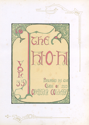 Page 3, 1923 Edition, Oberlin College - Hi-O-Hi Yearbook (Oberlin, OH) online yearbook collection