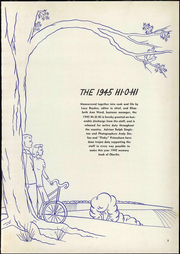 Page 9, 1945 Edition, Oberlin College - Hi-O-Hi Yearbook (Oberlin, OH) online yearbook collection