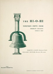 Page 5, 1954 Edition, Oberlin College - Hi-O-Hi Yearbook (Oberlin, OH) online yearbook collection