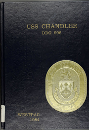 1984 Edition, Chandler (DDG 996) - Naval Cruise Book