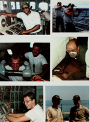 Page 14, 1986 Edition, Chandler (DDG 996) - Naval Cruise Book online yearbook collection