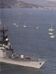 Page 3, 1986 Edition, Chandler (DDG 996) - Naval Cruise Book online yearbook collection
