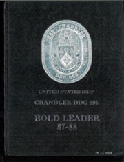 1988 Edition, Chandler (DDG 996) - Naval Cruise Book