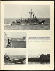 Page 11, 1985 Edition, Comte De Grasse (DD 974) - Naval Cruise Book online yearbook collection