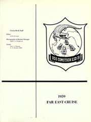 Page 5, 1959 Edition, Comstock (LSD 45 LSD 19) - Naval Cruise Book online yearbook collection