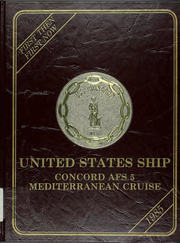 Page 1, 1985 Edition, Concord (AFS 5) - Naval Cruise Book online yearbook collection