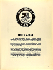 Page 9, 1989 Edition, Conolly (DD 979) - Naval Cruise Book online yearbook collection