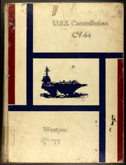 1977 Edition, Constellation (CV 64) - Naval Cruise Book