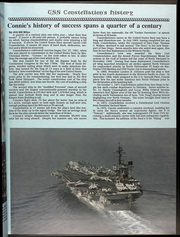 Page 13, 1987 Edition, Constellation (CV 64) - Naval Cruise Book online yearbook collection