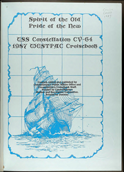 Page 5, 1987 Edition, Constellation (CV 64) - Naval Cruise Book online yearbook collection