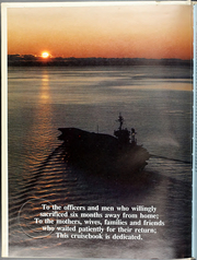Page 6, 1987 Edition, Constellation (CV 64) - Naval Cruise Book online yearbook collection