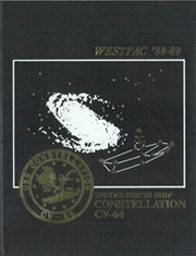 1989 Edition, Constellation (CV 64) - Naval Cruise Book