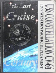 1999 Edition, Constellation (CV 64) - Naval Cruise Book