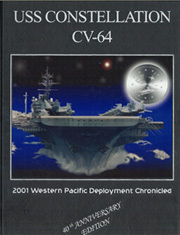 2001 Edition, Constellation (CV 64) - Naval Cruise Book