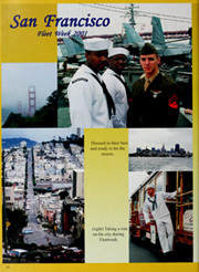 Page 16, 2001 Edition, Constellation (CV 64) - Naval Cruise Book online yearbook collection
