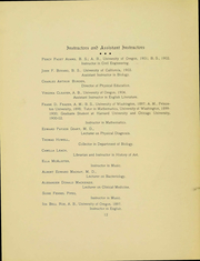 Page 11, 1905 Edition, University of Oregon - Oregana Yearbook (Eugene, OR) online yearbook collection