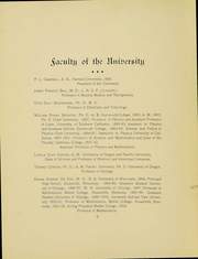 Page 7, 1905 Edition, University of Oregon - Oregana Yearbook (Eugene, OR) online yearbook collection