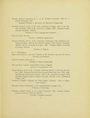 Page 8, 1905 Edition, University of Oregon - Oregana Yearbook (Eugene, OR) online yearbook collection