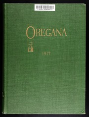 University of Oregon - Oregana Yearbook (Eugene, OR) online yearbook collection, 1917 Edition, Page 1