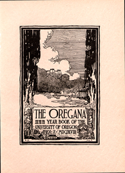 Page 5, 1918 Edition, University of Oregon - Oregana Yearbook (Eugene, OR) online yearbook collection