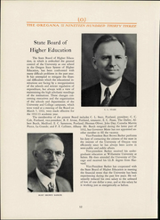 Page 14, 1933 Edition, University of Oregon - Oregana Yearbook (Eugene, OR) online yearbook collection