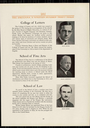 Page 17, 1933 Edition, University of Oregon - Oregana Yearbook (Eugene, OR) online yearbook collection