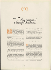 Page 7, 1933 Edition, University of Oregon - Oregana Yearbook (Eugene, OR) online yearbook collection