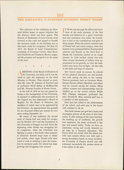 Page 9, 1933 Edition, University of Oregon - Oregana Yearbook (Eugene, OR) online yearbook collection