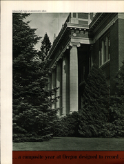 Page 11, 1941 Edition, University of Oregon - Oregana Yearbook (Eugene, OR) online yearbook collection