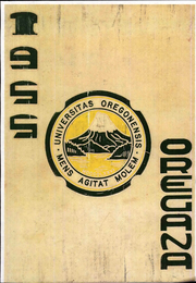 Page 1, 1955 Edition, University of Oregon - Oregana Yearbook (Eugene, OR) online yearbook collection
