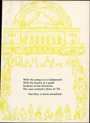 Page 7, 1955 Edition, University of Oregon - Oregana Yearbook (Eugene, OR) online yearbook collection