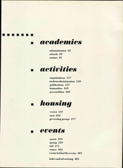 Page 11, 1956 Edition, University of Oregon - Oregana Yearbook (Eugene, OR) online yearbook collection