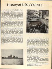 Page 7, 1968 Edition, Coontz (DLG 9) - Naval Cruise Book online yearbook collection