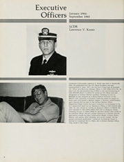 Page 10, 1985 Edition, Cook (FF 1083) - Naval Cruise Book online yearbook collection