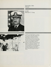 Page 11, 1985 Edition, Cook (FF 1083) - Naval Cruise Book online yearbook collection
