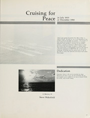 Page 7, 1985 Edition, Cook (FF 1083) - Naval Cruise Book online yearbook collection