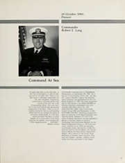 Page 9, 1985 Edition, Cook (FF 1083) - Naval Cruise Book online yearbook collection