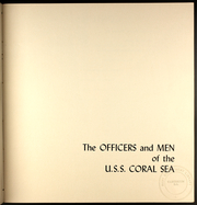 Page 3, 1956 Edition, Coral Sea (CVA 43) - Naval Cruise Book online yearbook collection