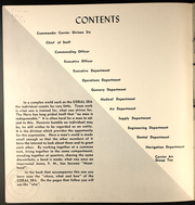 Page 4, 1956 Edition, Coral Sea (CVA 43) - Naval Cruise Book online yearbook collection