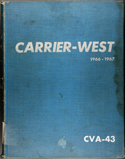 1967 Edition, Coral Sea (CVA 43) - Naval Cruise Book