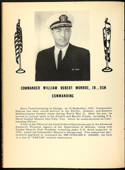 Page 10, 1962 Edition, Charles F Adams (DDG 2) - Naval Cruise Book online yearbook collection