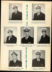 Page 13, 1962 Edition, Charles F Adams (DDG 2) - Naval Cruise Book online yearbook collection