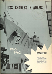 Page 5, 1962 Edition, Charles F Adams (DDG 2) - Naval Cruise Book online yearbook collection