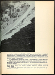 Page 9, 1962 Edition, Charles F Adams (DDG 2) - Naval Cruise Book online yearbook collection