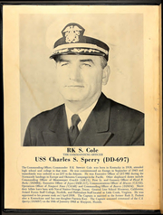 Page 4, 1962 Edition, Charles S Sperry (DD 697) - Naval Cruise Book online yearbook collection